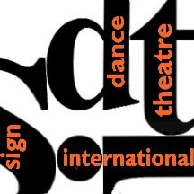 SDTI Signdance Theatre International  Logo