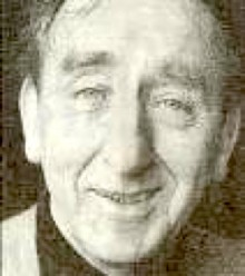 black and white photo of Brian Behan