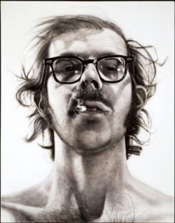 Seeing in close up: exploring the work of photorealist painter Chuck Close