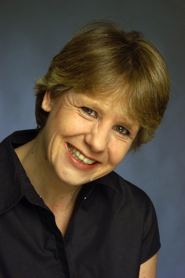 Photo of comedian Clare Summerskill smiling at the camera