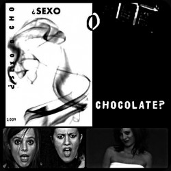 black and white still from spanish film sex or chocolate showing a series of women's heads