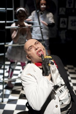 photo of actor playing Ian Dury