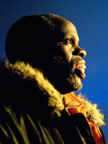 photo of Krip Hop writer and performer Leroy Moore