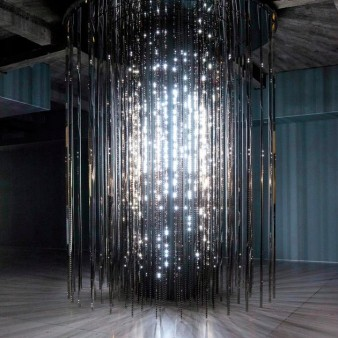 image of an sculptural light installation