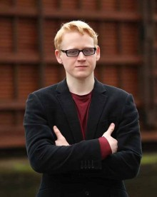photo of young disabled composer Lloyd Coleman