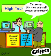 Crippen Memory cartoon