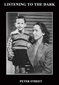 black and white photo of the poet as a young lad, being held by his mother