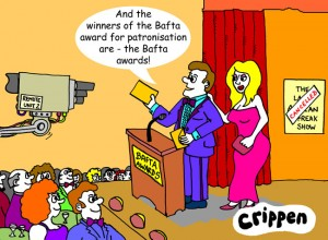 Bafta cartoon