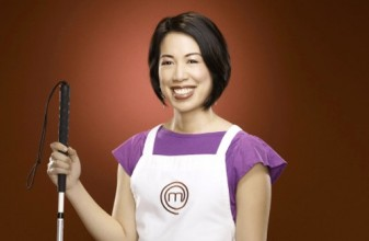 photo of blind US masterchef winner Christine Ha