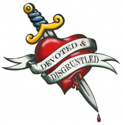 Devoted and Disgruntled tattoo