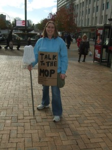 Day two with Mop! (image copyright)