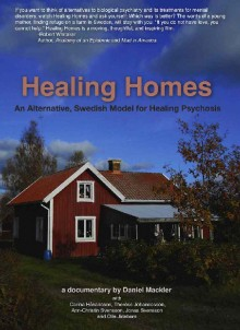 Heaing Homes DVD cover showing an image of a red clapboard house