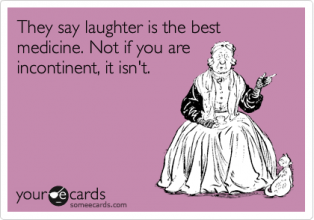 Laughter is not the best medicine comedy card
