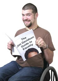 Promotional photo of comedian Laurence Clark