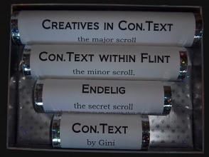 Gini: Con.Text: the major and minor scroll