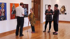 Launch exhibition solihull arts complex