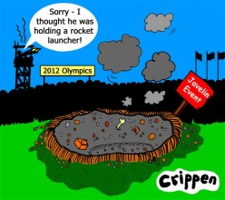 Olympic security to an extreme