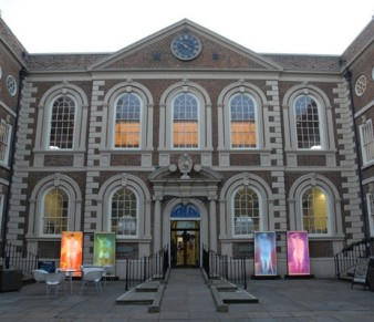 The Bluecoat, Liverpool with installation by Ju Gosling aka Ju90