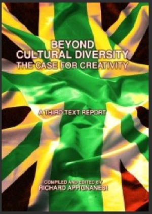 front cover for third text publication beyond cultural diversity - the case for creativity