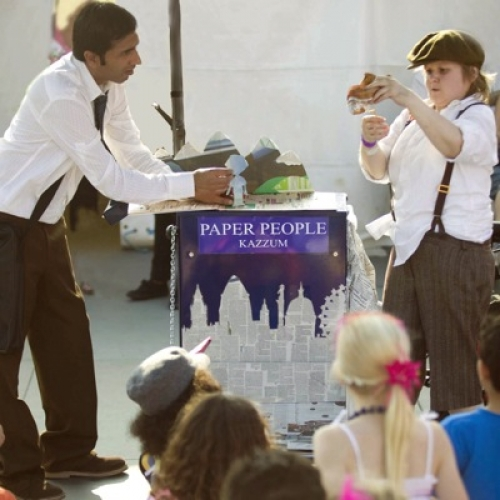 Kazzum theatre company perform Paper People