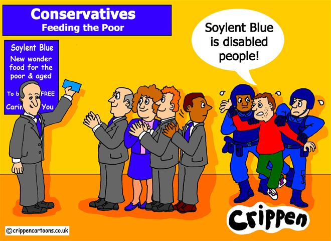 Crippen's Soylent Blue cartoon
