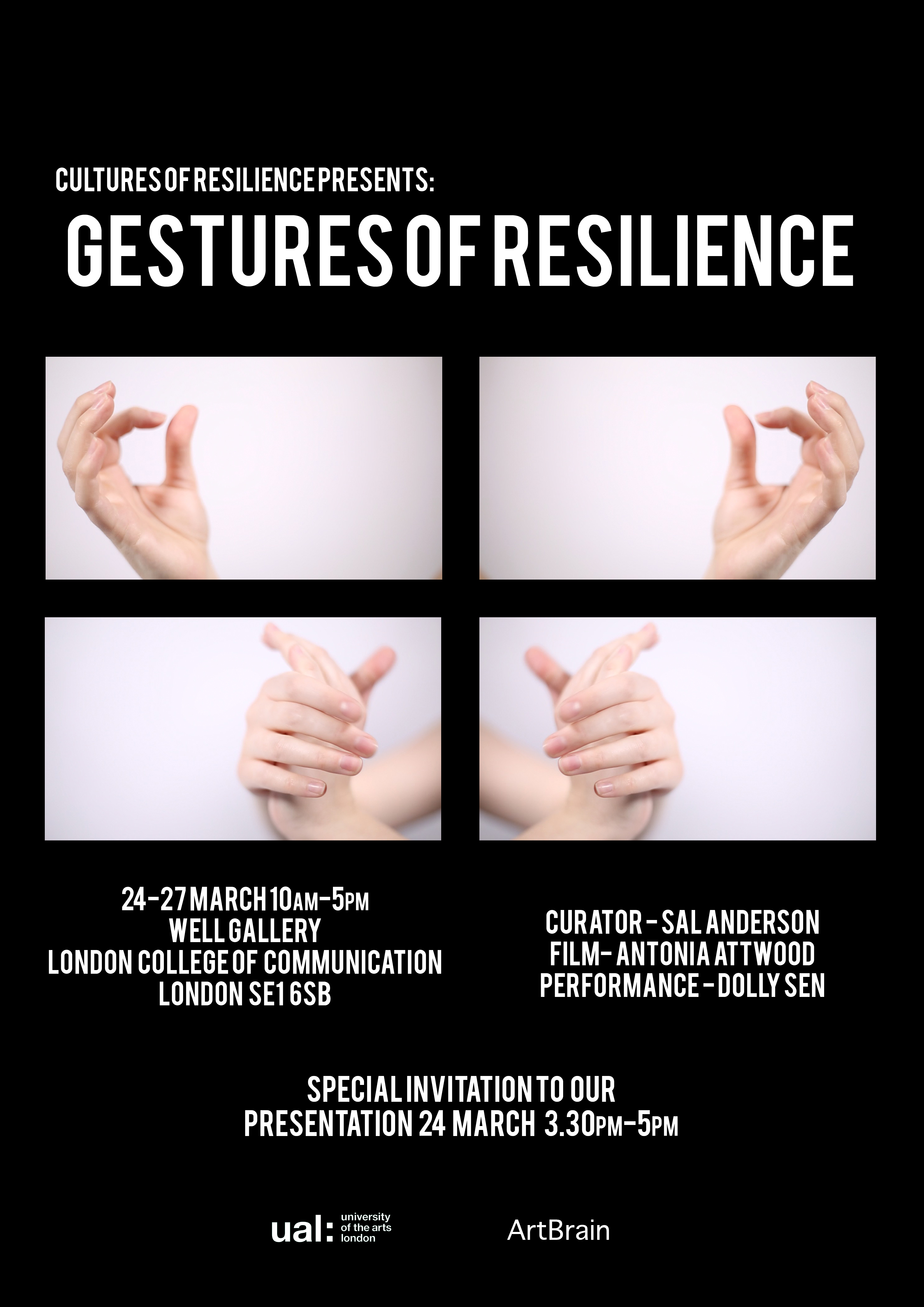 Gestures of Resilience Event