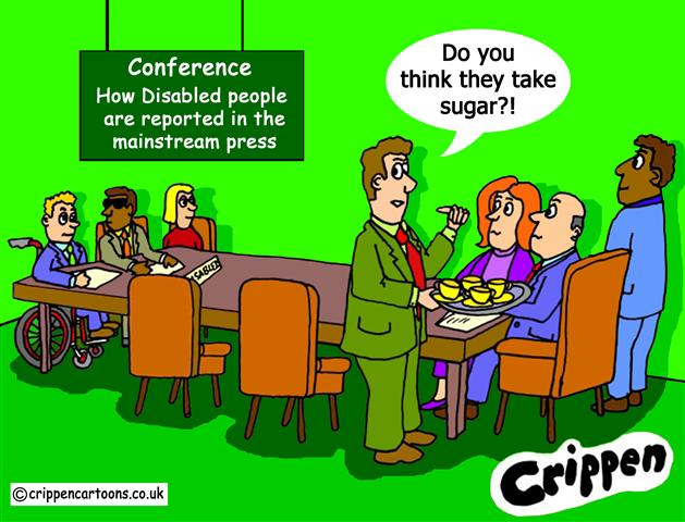Crippen's look at media representation of disabled people