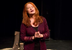 Review: Karen Finley relives the AIDS crisis in 'Written in Sand'