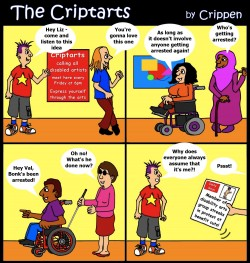 Crippen presents the Criptarts