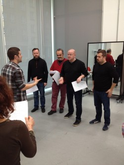 News:Four Deaf Yorkshiremen cast rehearse new comedy!