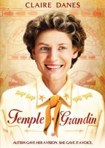 A DVD cover showing Clare Danes as Temple Grandin