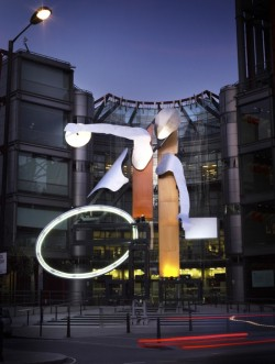 Channel 4 unveils new 'Big 4' installation