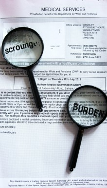 Assessed as scum - a letter from atos