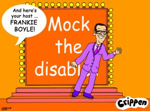 Crippen's adds a cartoon to Vicky Wright's open letter to Frankie Boyle