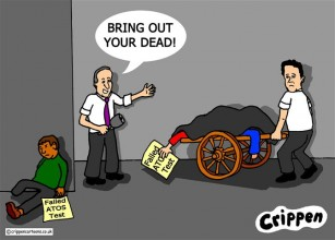 Crippen's cartoon about welfare cut deaths