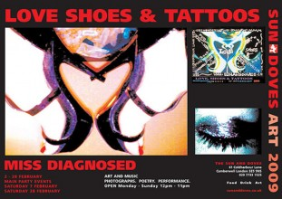 Love, Shoes and Tattoo Flyer
