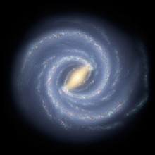 Artists's impression of the Milky Way Galaxy