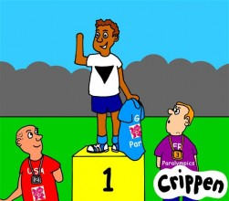 Crippen's disability protest cartoon