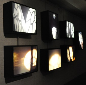 photo of a series of lightboxes Photo by Minako Jackson