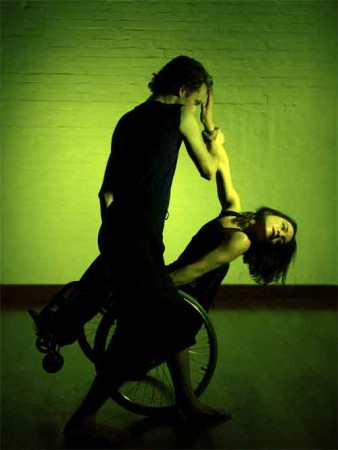 photo of two stopgap dancers